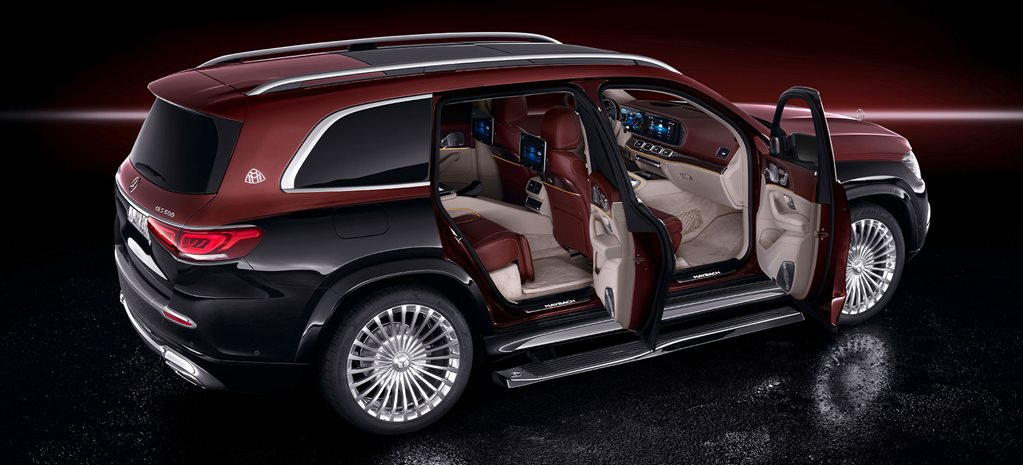 Mercedes-Maybach GLS600 revealed