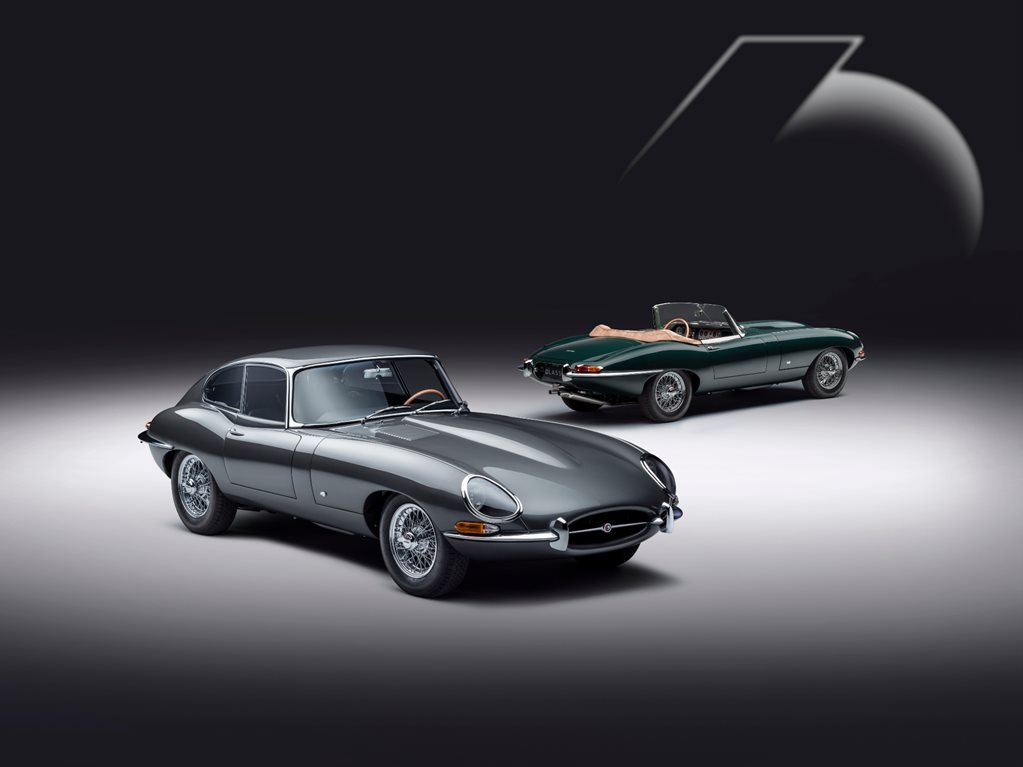 Jaguar Classic unveils E-Type 60 Collection duo