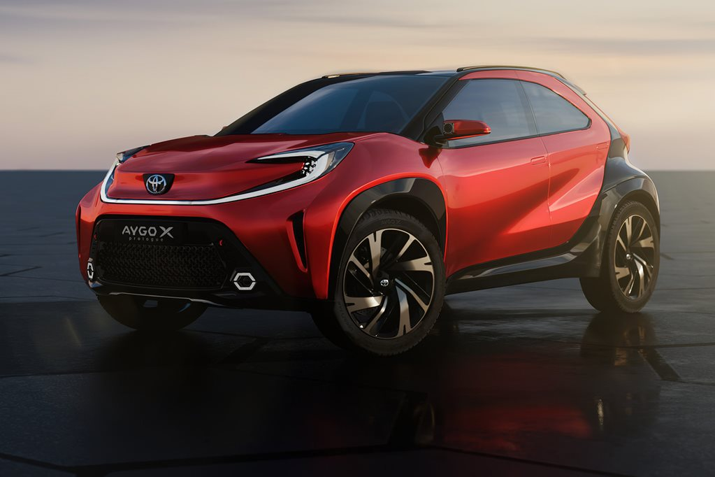 Toyota Aygo X Prologue concept revealed