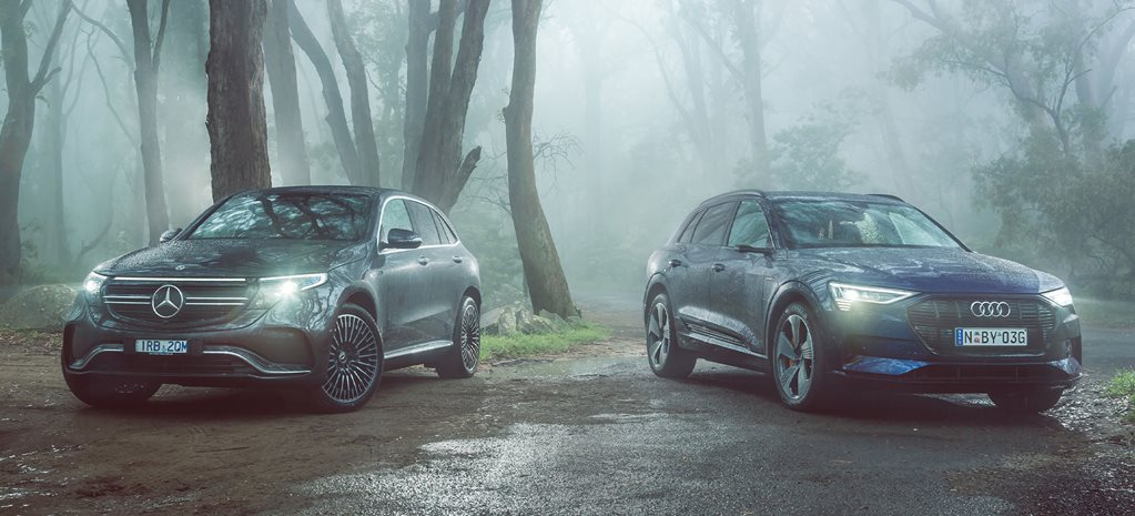 Mercedes-Benz EQC 400 vs Audi e-tron 55