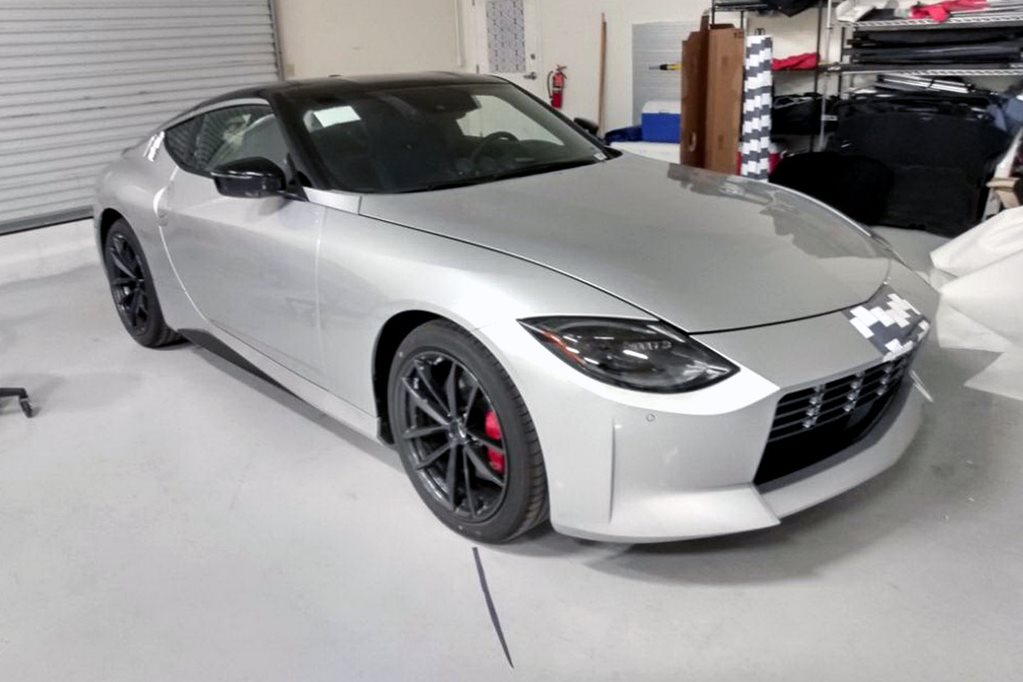 New Nissan Z spied again in factory photo leak