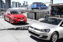 Ford Focus v Toyota Corolla v Volkswagen Golf comparison review