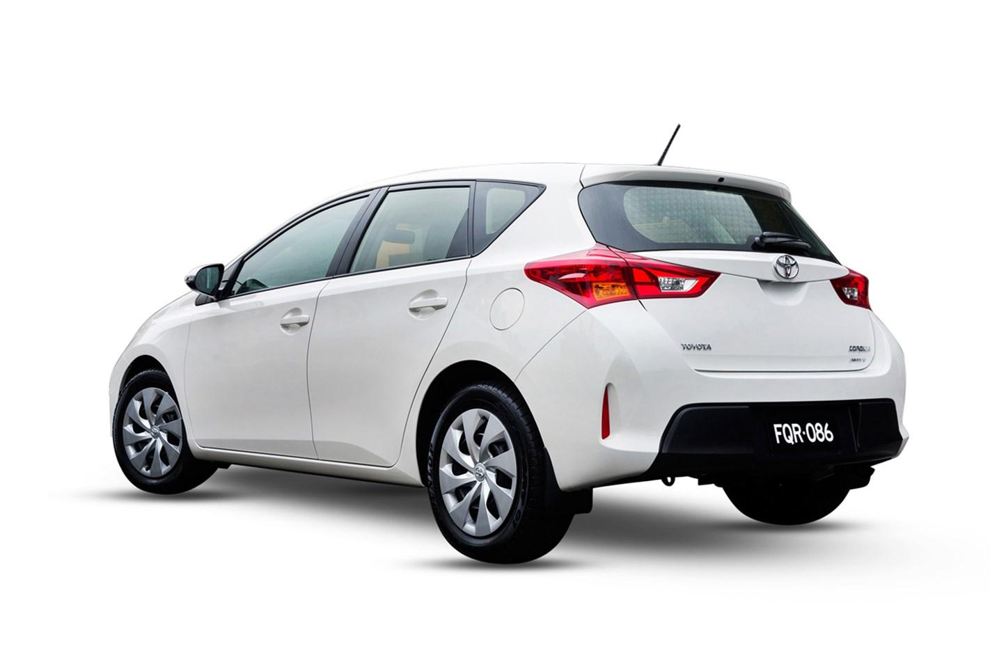 2016 Toyota Corolla Ascent 18L 4cyl Petrol Manual Hatchback