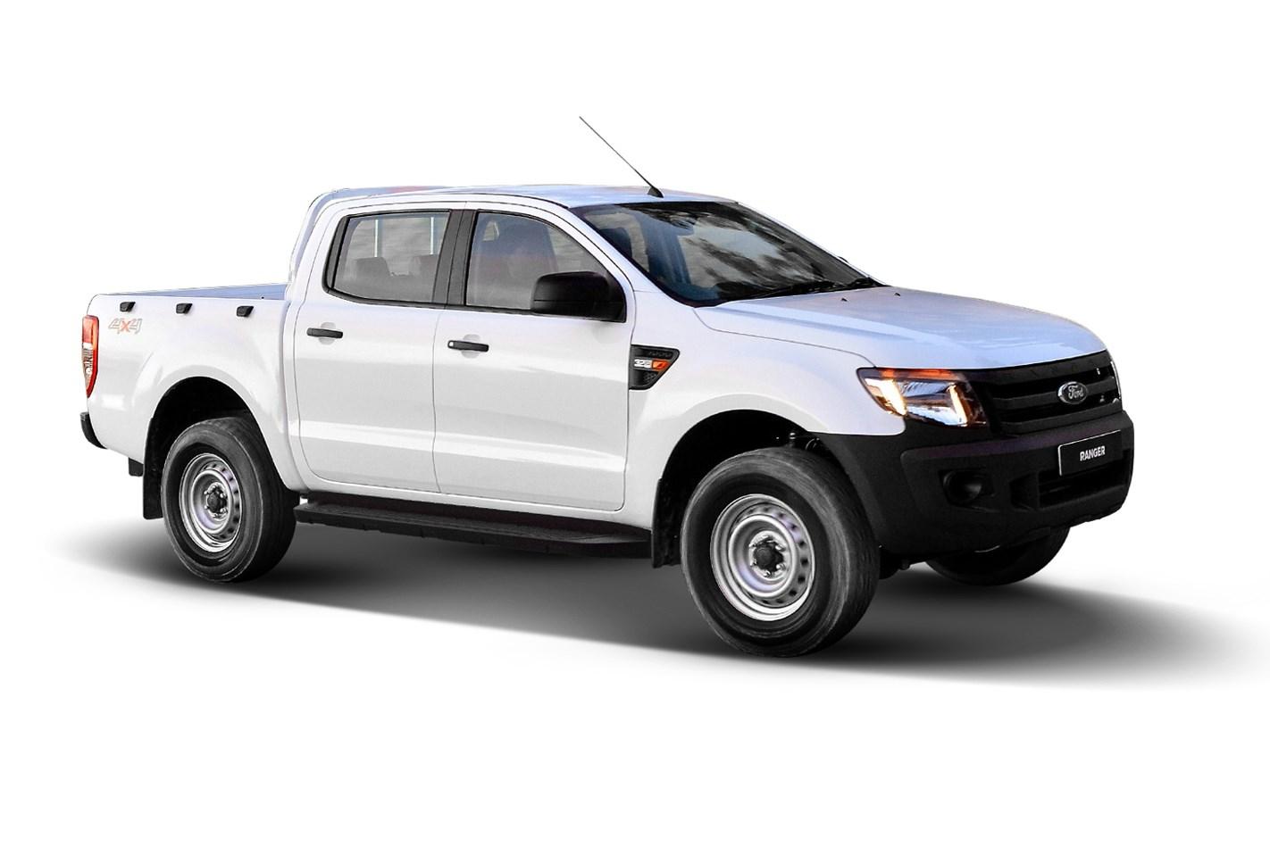 2015 Ford Ranger XL 32 4x4 Dual Cab Utility