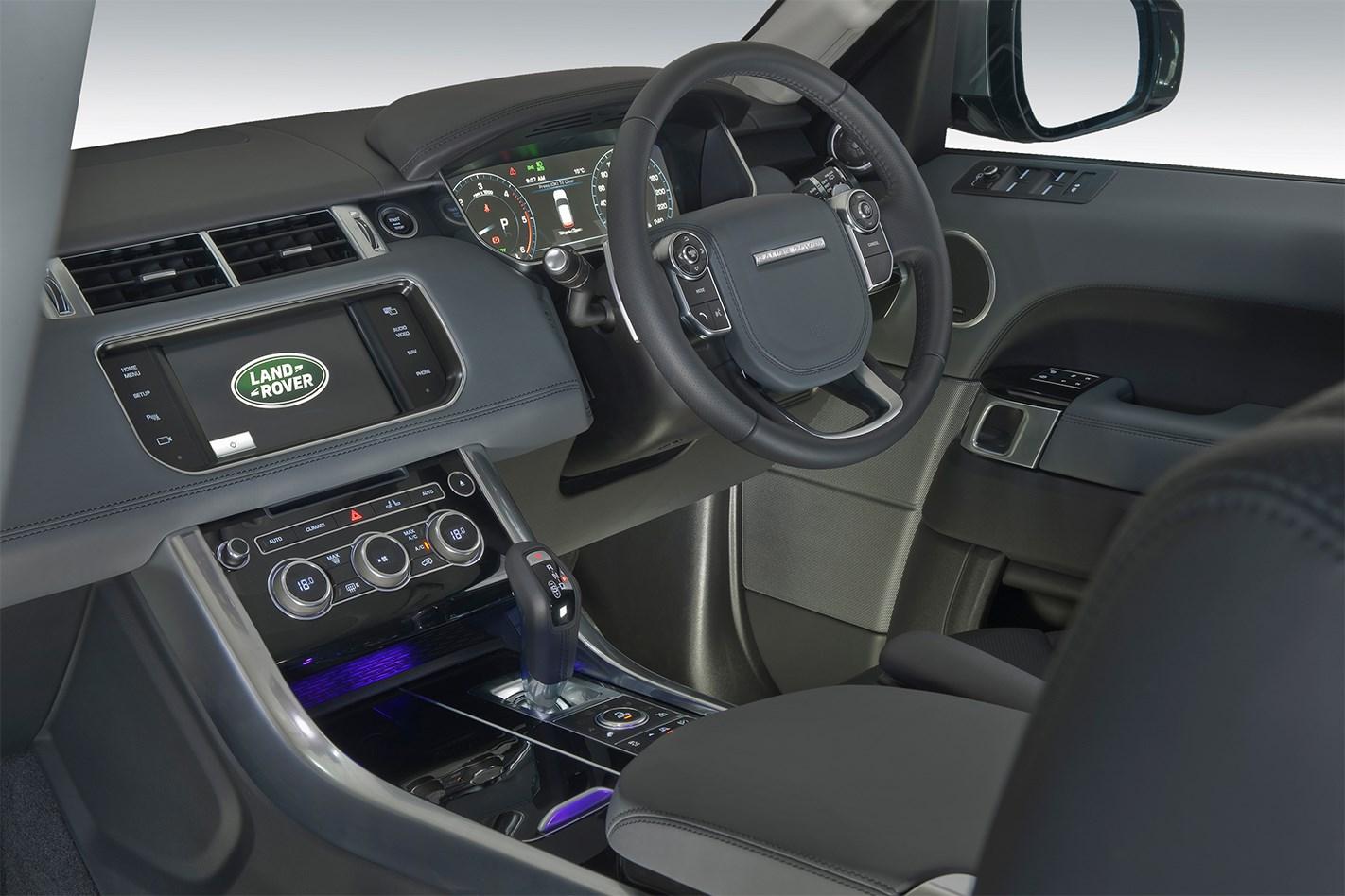 Range rover evoque interior ambient lighting awesome home for Range rover sport interior lighting