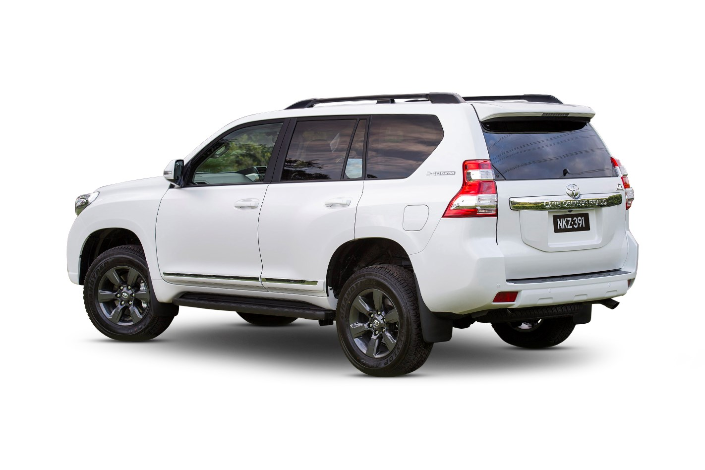 Toyota landcruiser height