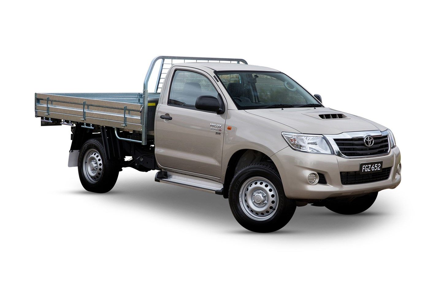 2017 toyota hilux sr (4x4), 2.8l 4cyl diesel turbocharged manual