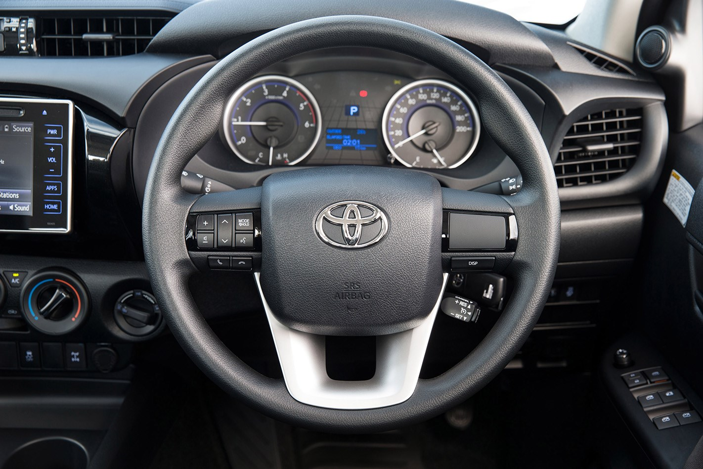 2016 toyota hilux sr 4x4 cab chassis review caradvice - 2017 Toyota Hilux Sr Hi Rider 2 8l 4cyl Diesel Turbocharged Manual Ute