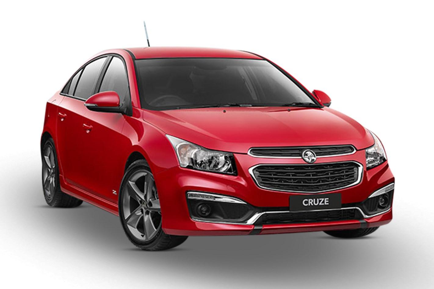 Holden Cruze Equipe Petrol Manual Sedan