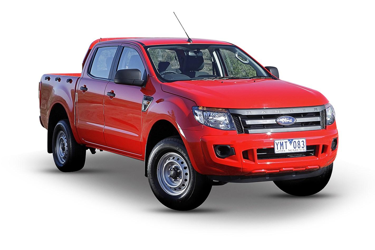 2017 ford ranger xl 2.2 (4x4), 2.2l 4cyl diesel turbocharged