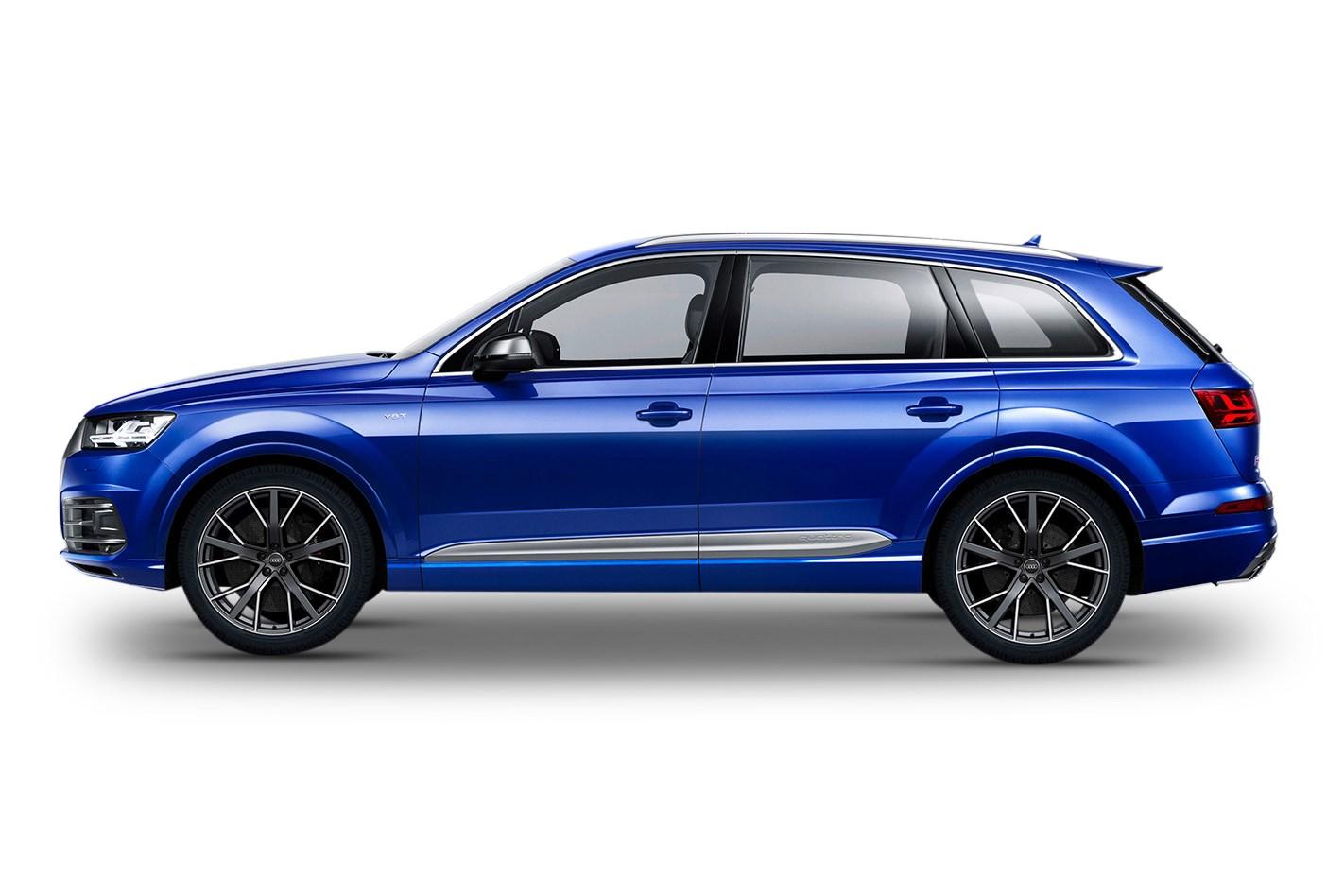 Audi SQ TDI V Quattro L Cyl Diesel Turbocharged - Audi sq7