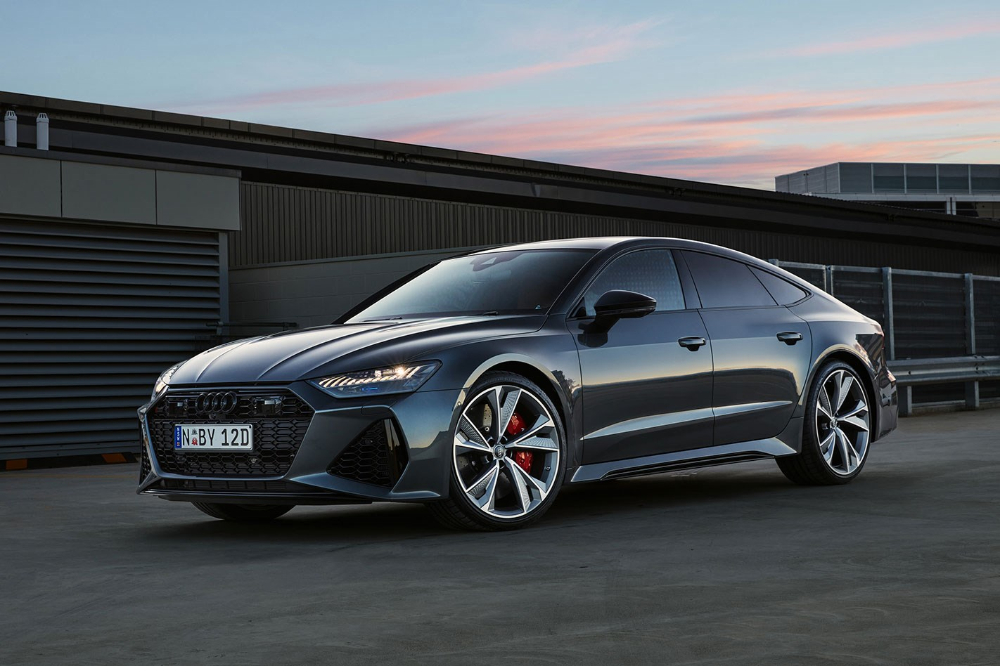 2021 Audi Rs7 Tfsi Quattro 4 0l 8cyl Petrol Turbocharged Automatic Hatchback