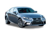 2018 Lexus IS 350 Sports Luxury 4D Sedan