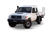 2017 Toyota LandCruiser Workmate (4x4) C/Chas