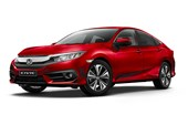 2017 Honda Civic VTi-L 4D Sedan