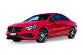 2017 Mercedes-Benz CLA220 d 4D Coupe
