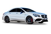 2017 Mercedes-Benz CLA45 4Matic (Fuel Efficient) 4D Coupe