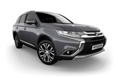 2017 Mitsubishi Outlander Exceed (4x4) 4D Wagon