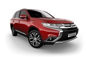 2017 Mitsubishi Outlander LS Safety Pack (4x4) 7 Seats 4D Wagon