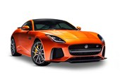 2017 Jaguar F-Type SV8 SVR AWD (423kW) 2D Coupe
