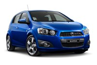 2015 Holden Barina CD Trio 5D Hatchback
