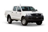 2017 Toyota Hilux Workmate (4x4) Dual Cab Utility
