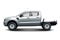 2017 Ford Ranger XL 2.2 (4x4) Crew C/Chas