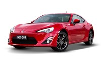 2017 Toyota 86 GTS 2D Coupe