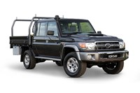 2017 Toyota LandCruiser Workmate (4x4) Double C/Chas