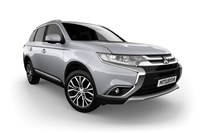 2017 Mitsubishi Outlander LS Safety Pack (4x4) 5 Seats 4D Wagon
