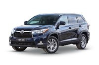 2017 Toyota Kluger Grande (4x4) 4D Wagon