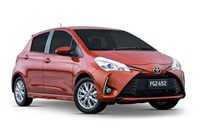 2017 Toyota Yaris ZR 5D Hatchback
