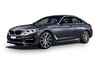 2017 BMW 540i Luxury Line 4D Sedan