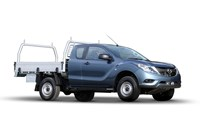 2017 Mazda BT-50 XT (4x4) Freestyle C/Chas