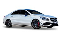 2017 Mercedes-AMG CLA 45 4Matic 4D Coupe