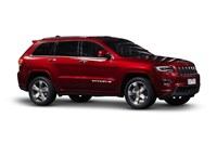 2017 Jeep Grand Cherokee Overland (4x4) 4D Wagon