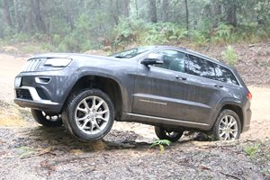 Jeep Grand Cherokee Summit diesel review