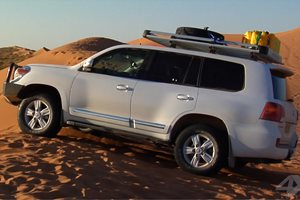 Toyota Land Cruiser 200 Sahara D4D review