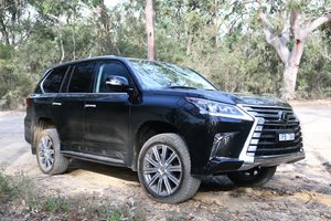 Lexus LX 570 Review