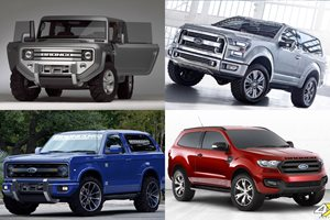 2004 Ford Bronco Concept car emerges in The Rock's new film   4X4 ...