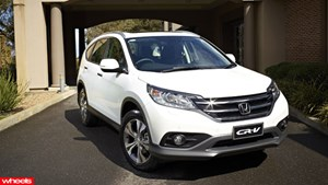 Review: New, Honda, CRV, Wheels magazine, new, fast