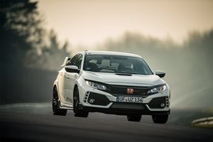Honda Civic Type R Nurburgring 7