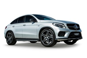 2017 Mercedes-AMG GLE 43 4Matic 4D Coupe