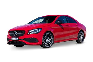 2017 Mercedes-Benz CLA 250 Sport 4Matic 4D Coupe
