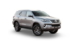 2017 Toyota Fortuner Crusade 4D Wagon
