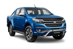 2017 Holden Colorado Storm (4x4) Crew Cab P/Up