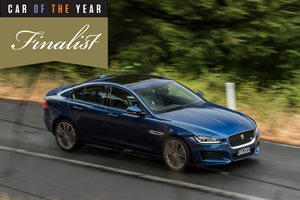 2016 Wheels Car of the Year finalist: Jaguar XE