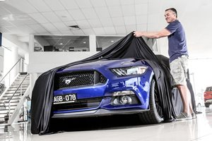 Meet Australia's first Ford Mustang owner