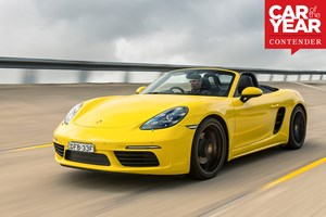 Porsche 718 Boxster: 2017 Car of the Year contender