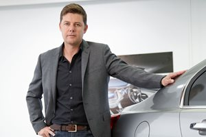 Andrew Smith, Australian designer of the Buick Avenir concept car.